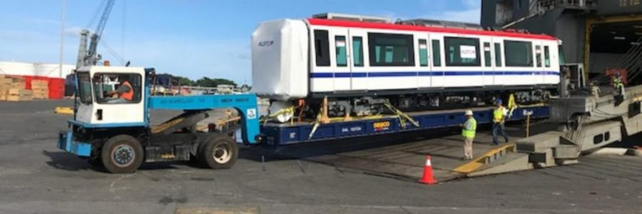 Alstom delivers its two first metro trains for Santo Domingo Line 2B